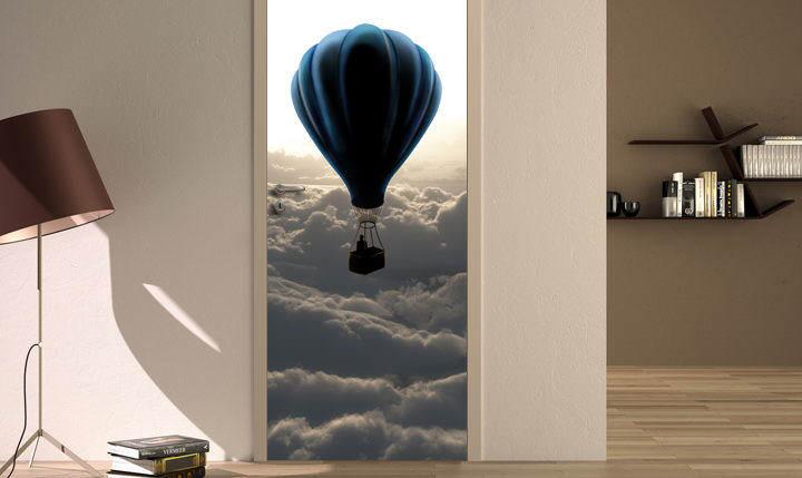 Naklejki Na Drzwi Niezwykła Odmiana W Kilka Chwil
