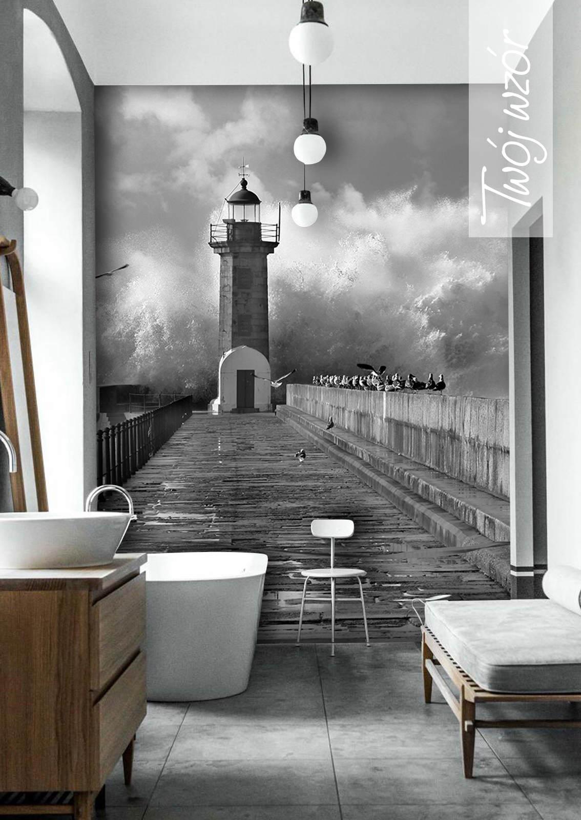 Zainspirowani Modą Na Fototapety W łazienkach Nasze Pomysły