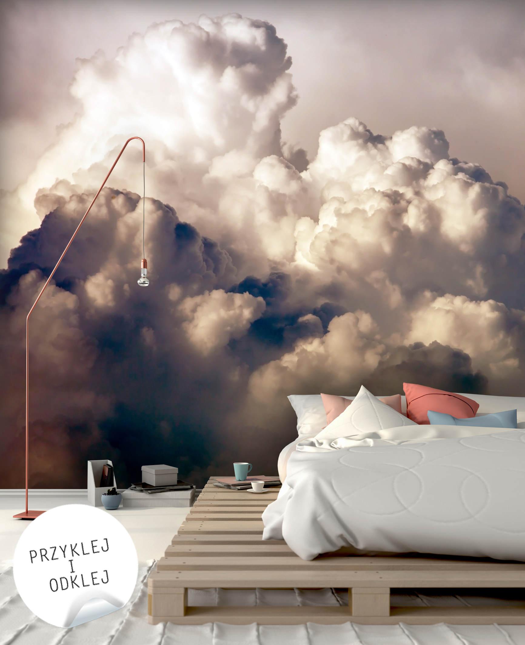 Kawalek Nieba W Domu Czyli Fototapety Z Motywem Chmur Obrazyfoto