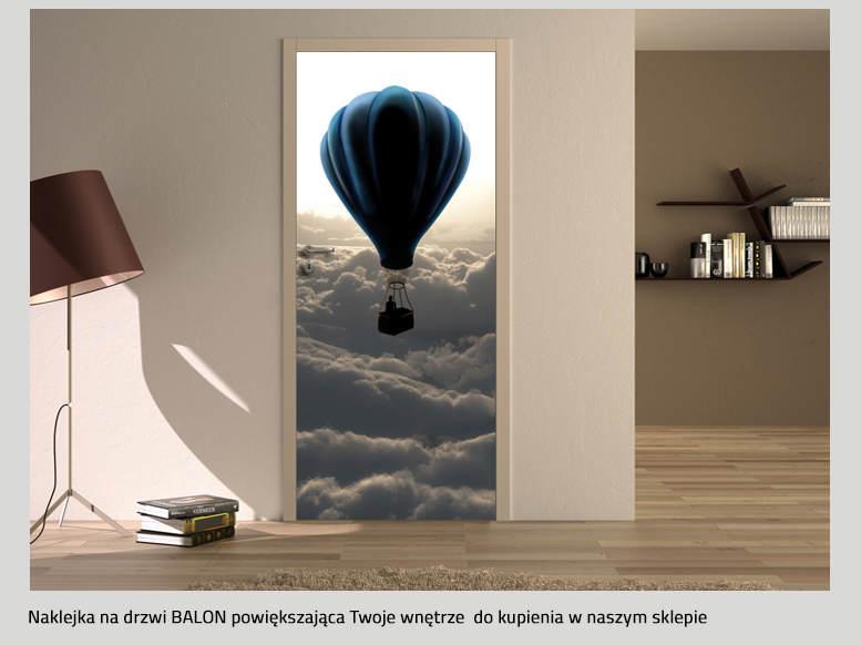 NAKLEJKI NA DRZWI balony
