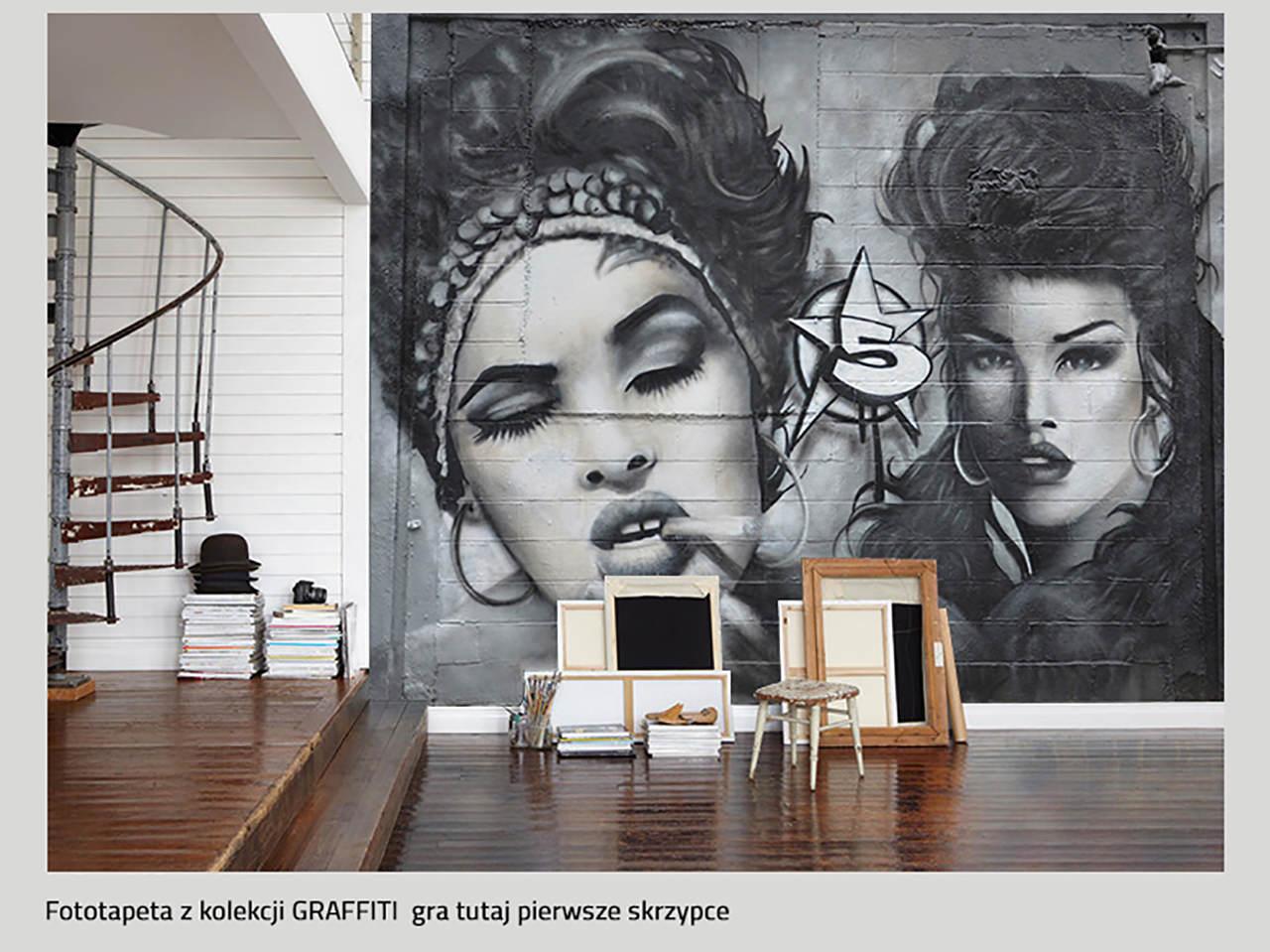 fototapety do salonu graffiti