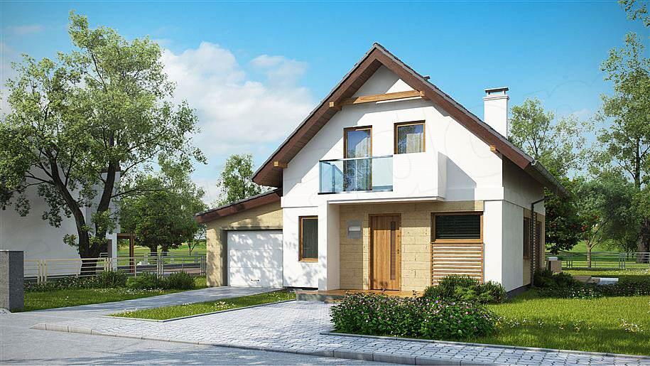 Projekt domu Z177 GL 1