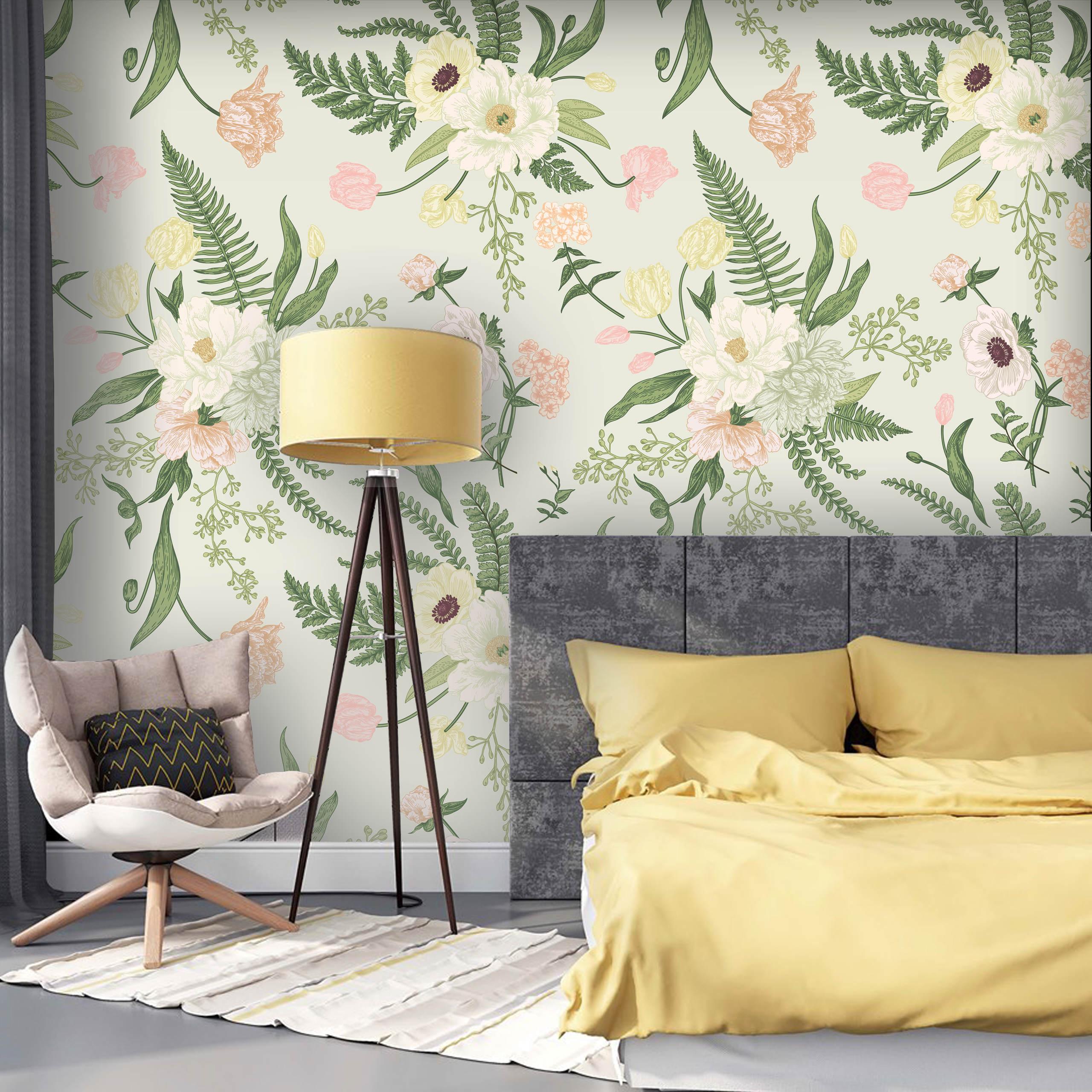 fototapety-z-kwiatami-do-sypialni