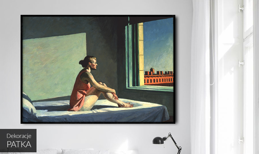 Poranne słońce Edward Hopper