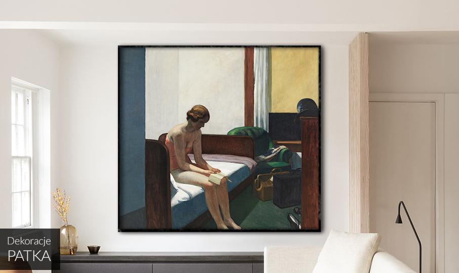 Edward Hopper Pokój hotelowy