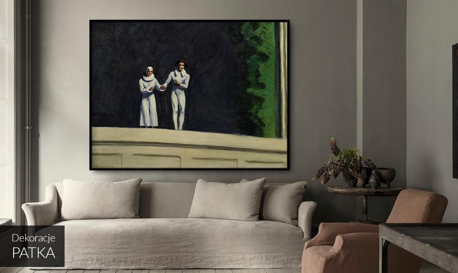 Dwóch aktorów Edward Hopper