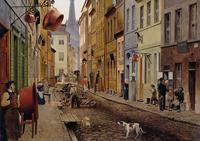 Obrazy uliczki