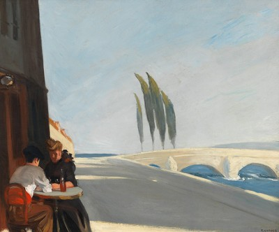 E. Hopper, Le Bistro or The Wine Shop  - wf1031