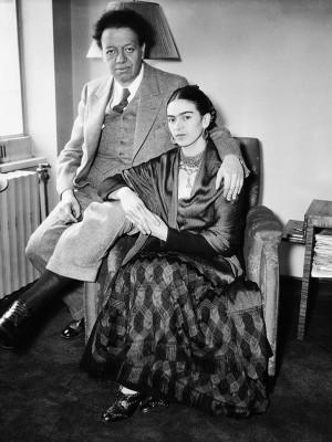 Frida Kahlo i Diego Rivera  - wf629