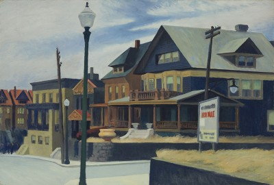 E. Hopper, East Wind Over Weehawken - wf1038