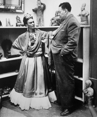 Frida Kahlo i Diego Rivera  - wf627