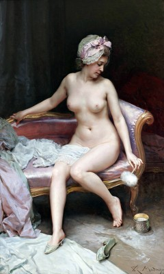Naga kobieta po kąpieli, Raimundo Madrazo - wf479
