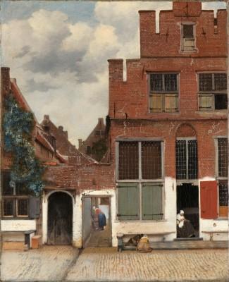 Widok domów w Delft - wf200