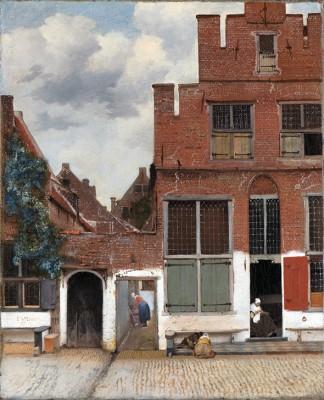 Widok domów w Delft - wf485