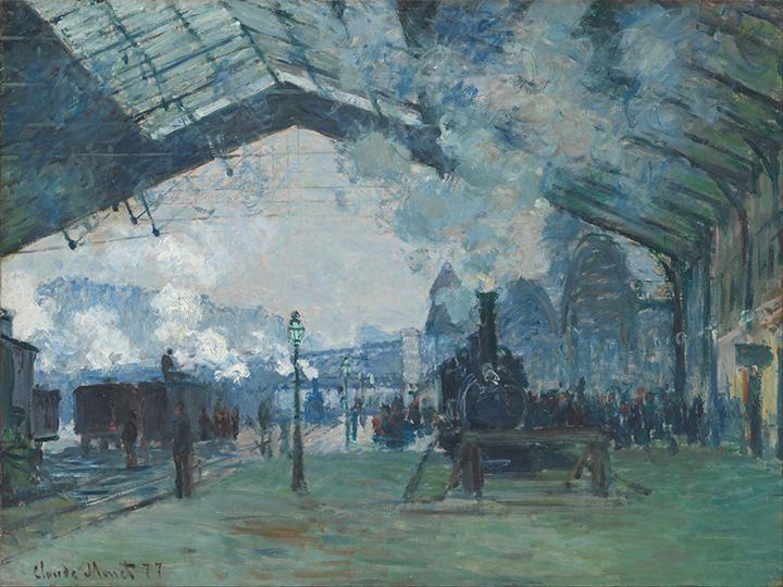 La Lumière - C. Monet - wf1741