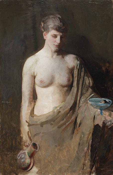 Boginie Hebe - Abbott Handerson Thayer - wf1583