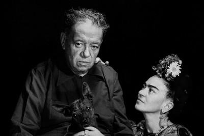 Frida Kahlo i Diego Rivera  - wf632