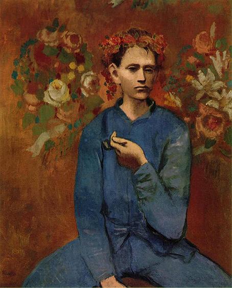 Chłopiec z Fajką - Pablo Picasso - wf1401