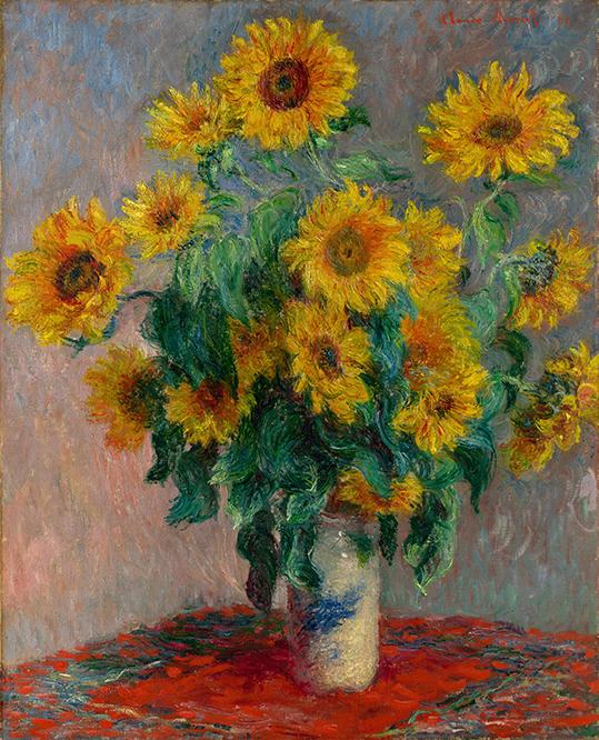 Bukiet Słoneczników - C. Monet - wf1746