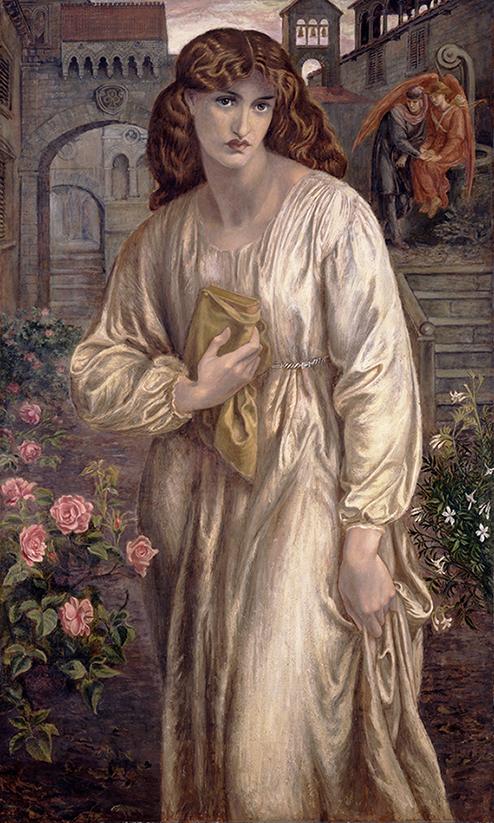 Powitanie Beatrice - D.G. Rossetti - wf1458