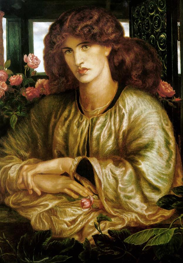 La Donna Della Finestra - D.G.Rossetti - wf1489
