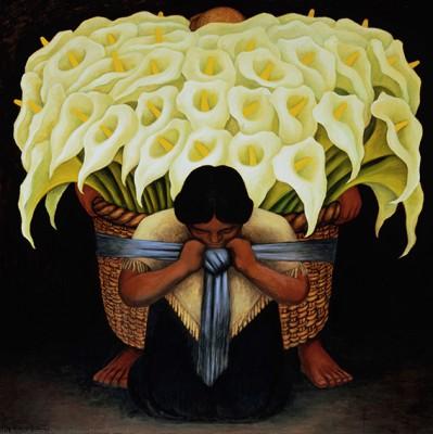 DIego Rivera - Flowers - wf1315