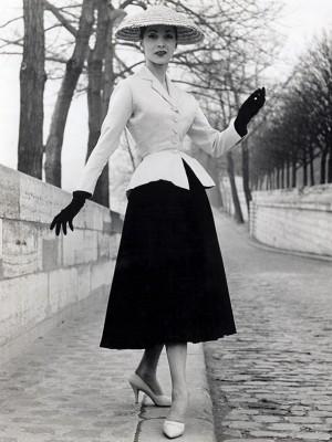 Dior, 1947r., New Look - wf1172