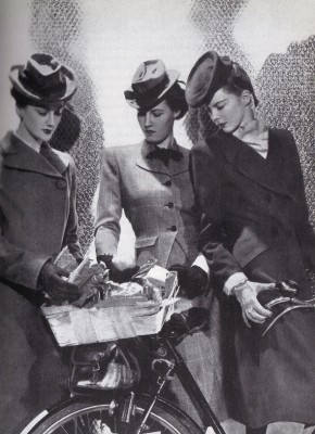 1940r.,  London Fashion - wf1167