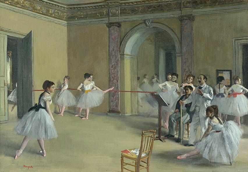 Edgar Degas - Próba baletowa - wf1074