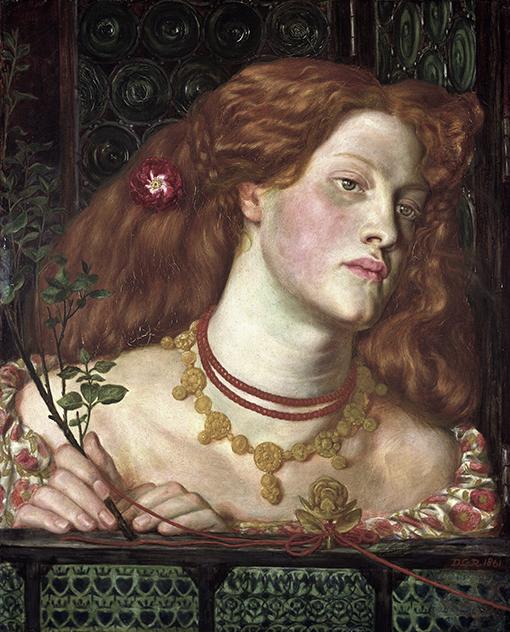 Fair Rosamund - D.G. Rossetti - wf1562