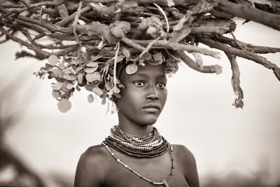 Afrykańska Kobieta - wf584