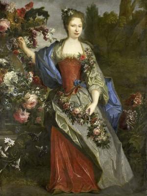Kobieta z kwiatami - wf619