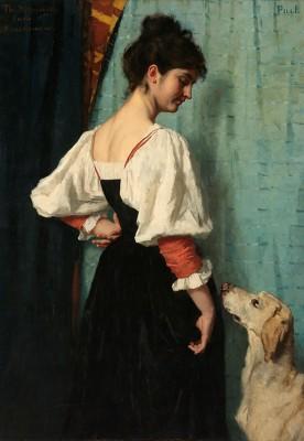 Kobieta z psem - wf492