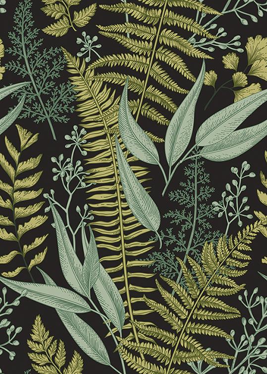 Wzór Roślinny - wf1807