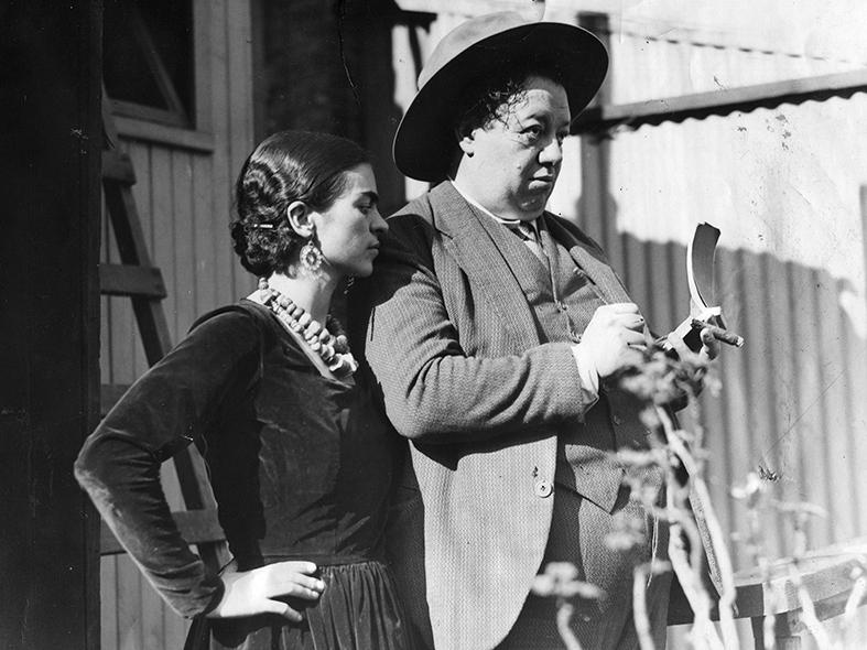 Frida Kahlo i Diego Rivera  - wf458