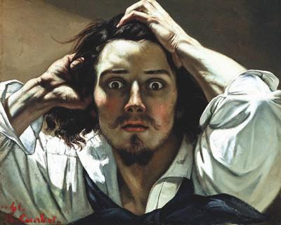 Gustave Courbet - UOMO DISPERATO - wf1388