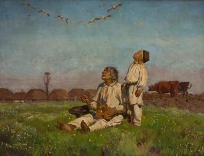 Józef Chełmoński - Bociany - wf1071