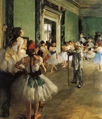 Klasa Tańca - Edgar Degas - wf1260