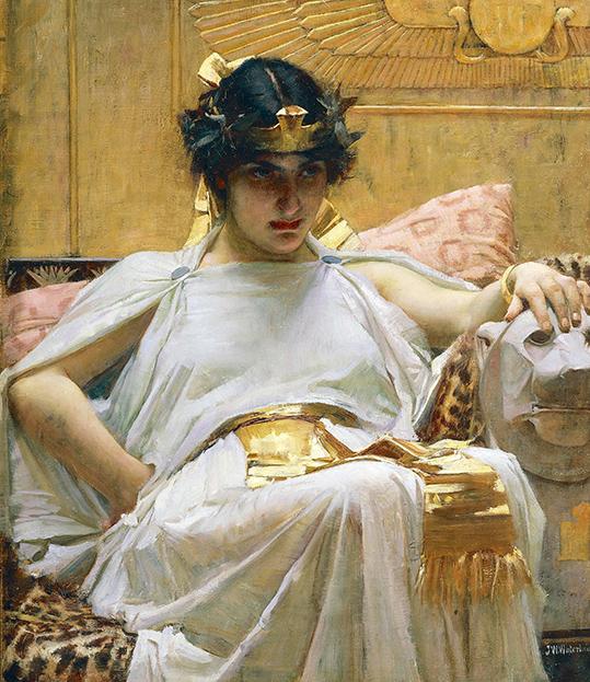 Kleopatra - W. Waterhouse - wf1568