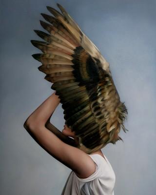 Kobieta Ptak  - wf1298