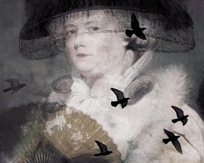 Kobieta w Kapeluszu - wf1676