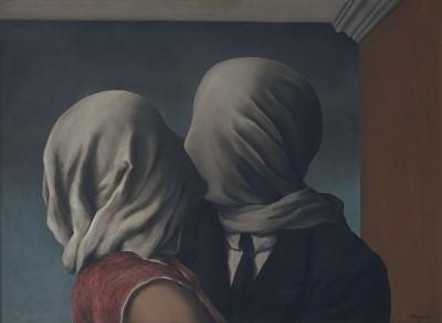 René Magritte - Kochankowie  - wf1179