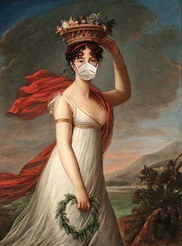 Lady in a mask  - wf1600