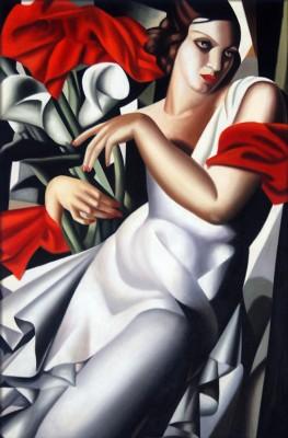 Tamara Łempicka - Portret Madame Ira P. - wf1186