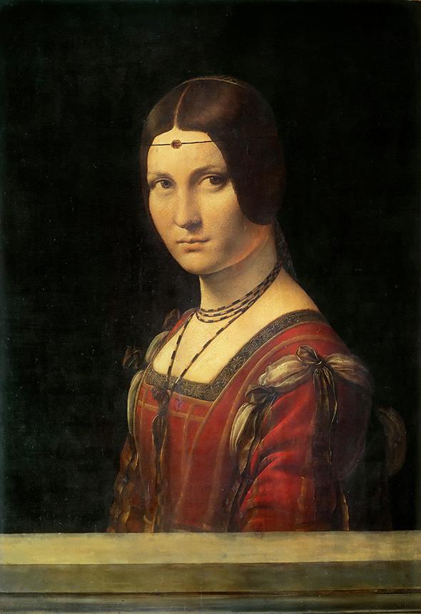 Leonardo da Vinci - La Belle Ferroniere - wf1055