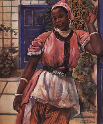 Marokańska Kobieta - Zinaida Serebriakova - wf1075