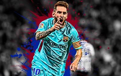 Lionel Messi - wf1107