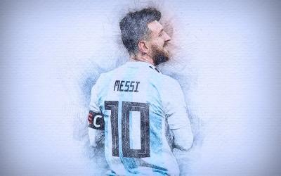 Lionel Messi - wf1122