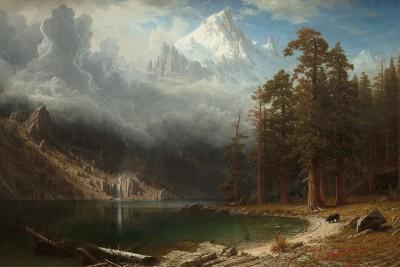 Gór Corcoran - Albert Bierstadt - wf1293