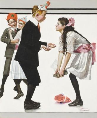 Taniec - Norman Rockwell - wf1101